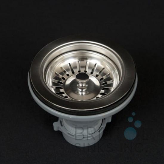Standard Sink Strainer - Stainless Steel by Bristol Sinks