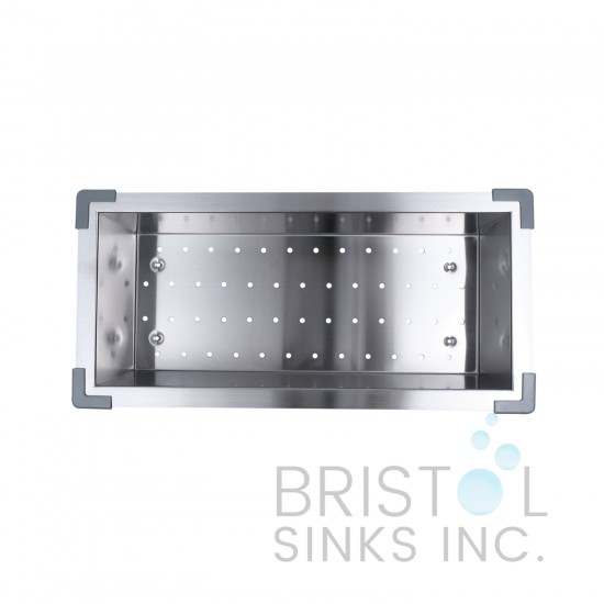 Zero Radius Stainless Steel Over the Sink Strainer - B900
