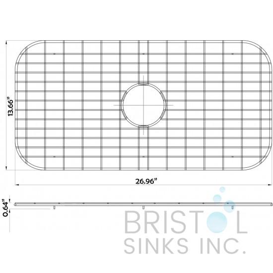 BG707  - Stainless Steel Grid