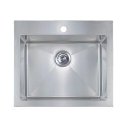 B207 18 Gauge Topmount Single Sink