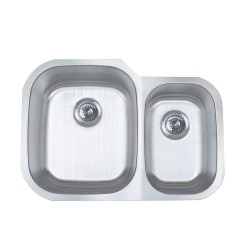 B802 Stainless Steel Undermount Double Bowl