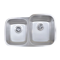 B814-R Stainless Steel Undermount Double Bowl